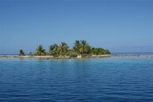An atoll in paradise