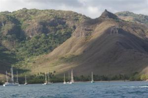 BWR boats in Daniels bay