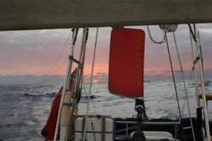 Big ocean dawn