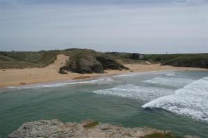 The beach on Belle Ile
