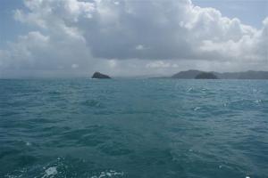 The Panama coastline