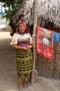 A Kuna Yala woman