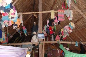 Inside Nesta's house