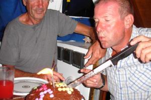 Pete's birthday cake