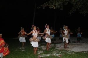 Local dancing girls