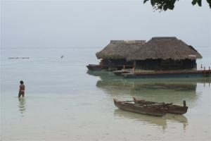 Tahitian hut