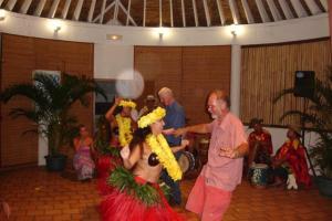 Ian enjoying the dancing