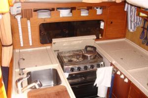 Camomile's galley layout