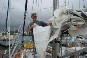 The torn sail