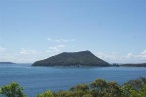 Tomaree Head at the entrance to Port Stephens