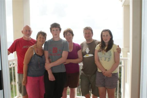 The Redgrove's and the Tomkinson's
