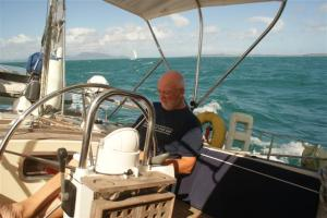 Bill on the helm