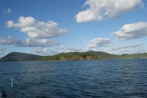 Approaching Brampton Island