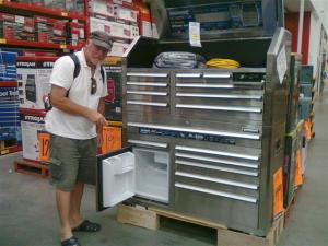 Bill found another tool box