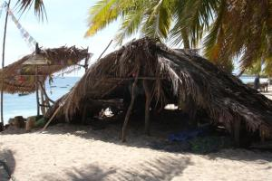 Hut on the beach