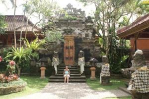 Inside the Ubud Palace