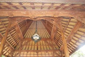 Beautiful carved roofs