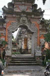 What an entrance gate
