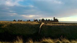 Slain castle ruins