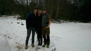 Thomas, Sonal and James