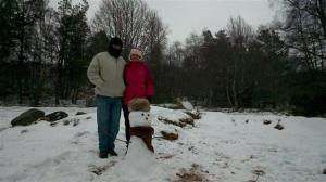 Bill and Sue, the coldest they've been in 5 years!!