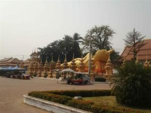 ..which led out to the town where we spotted the reclining Buddha.