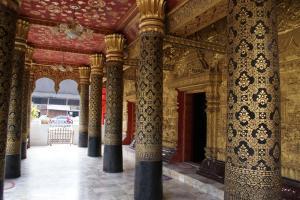 The ornate entrance
