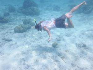 James free diving