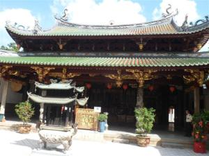 The Thian Hock Keng temple