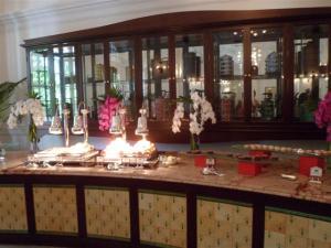 The hot buffet