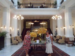 A very grand hallway