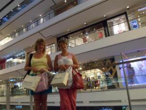 We went shopping