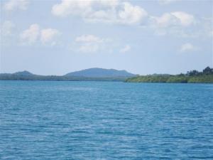 Scenery surrounding island of Banggi