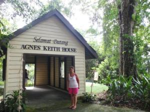 Entrance to Agnes Keith museum