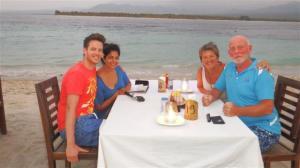 Best table on the beach