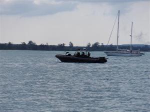 Navy gunship