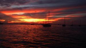 Sunset over Tarakan