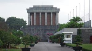 The Ho Chi Minh Mausoleum