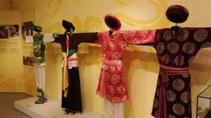 Costumes on display at Woman's museum