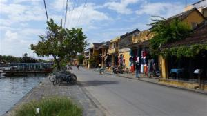 The waterfront at Hoi An