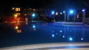 Floodlit pool
