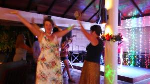 Sara and I couldn't resist dancing to the YMCA
