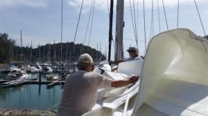 Nice new sail