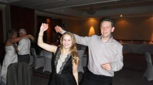 Jasmine dancing with her Dad