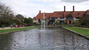 The fountain at Wisley