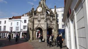 The 'pepperpot' in the middle of Chichester