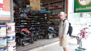 Bill found the hardware shop