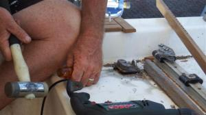 Removing the jamming cleats