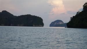 Stunning limestone islands