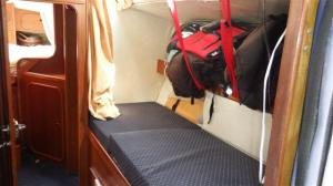 A quarter berth again - for a while!